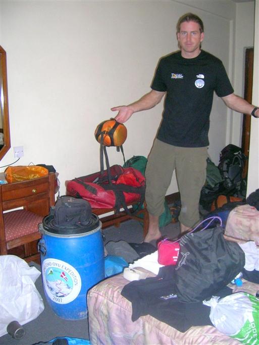 Jakob i Kathmandu - nu er det Island Peak, det gælder