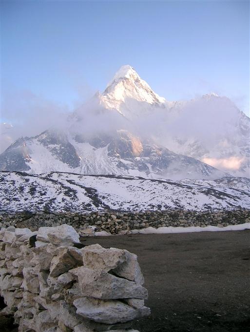 Island Peak venter forude - mon det går bedre end på Aconcagua?