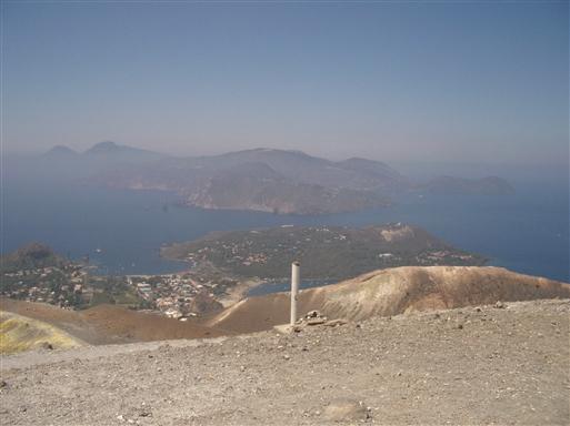 Foto: Anne Sophie Hillemann. Vulcano Summit View.