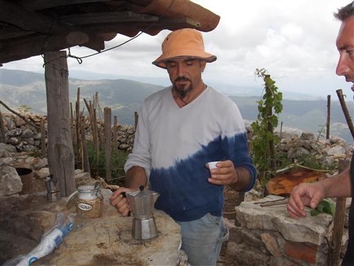 Foto: Helle Rothmann. Glamourfrisøren fra Rom, der bød på kaffe.