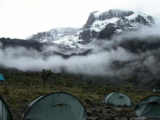 Barranco Camp i 3860 moh