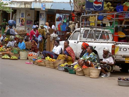 Gadesalg i Moshi