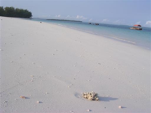 Hvide sandstrande og krystalbl�t vand