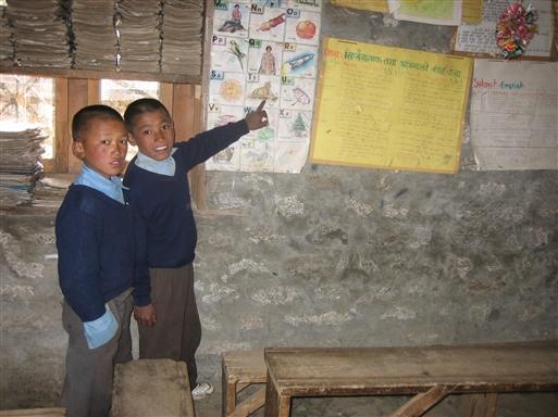 På skolebesøg i Thame dalen