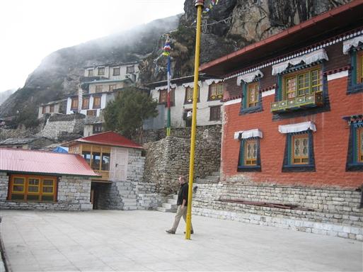 Thame Gompa er et af de aktive klostre i Solu Khumbu