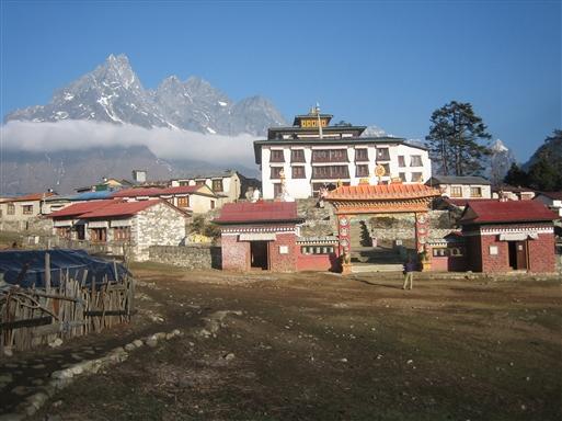 Thyangboche er det største og vigtigste kloster i Solu Khumbu