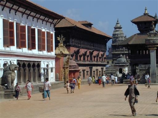 Pagodetagene er karakteristisk for de gamle templer og paladser