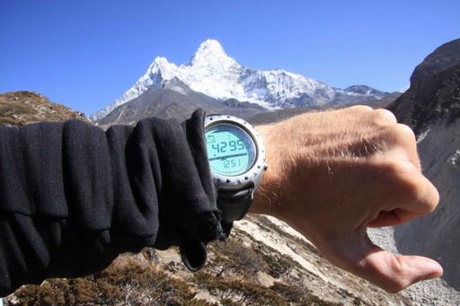 I 4.295 m er vi snart fremme ved Base Camp.