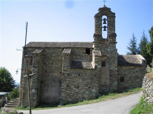 Den gamle kirke i Vicinato