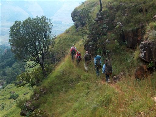 Vandring i Drakensberg