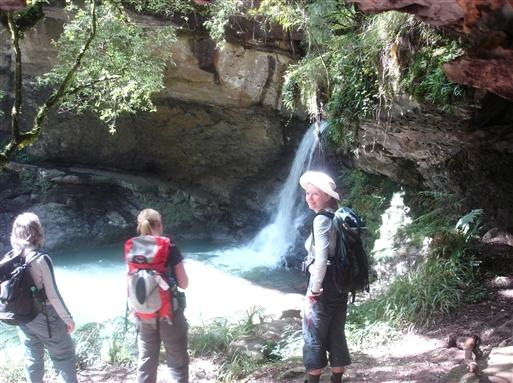 Lille vandfald i Didima kløften