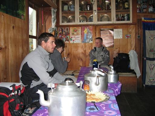 Man drikker store mængder af te i Nepal