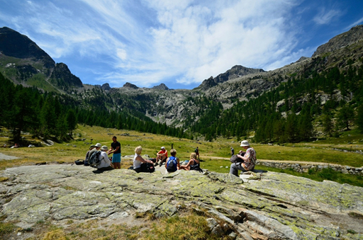 Vandretur i Alpi Marittime