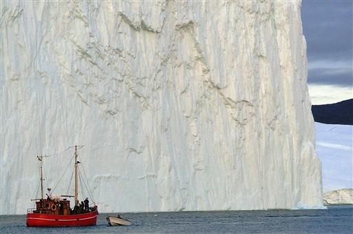 Store isbjerge - Grønland