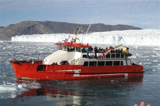 Eqip Sermia isbreen - Grønland