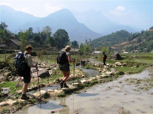 På vandring - Vietnam