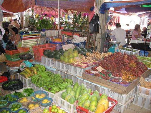 Frugtmarked - Borneo