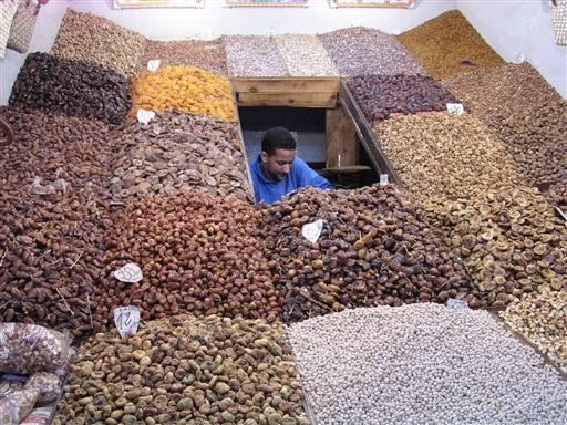 Tørret frugt - Marokko