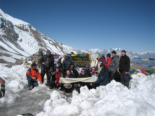 Thorung La passet på vej rundt om Annapurna - Nepal
