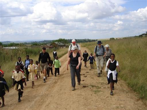 Lokalt følgeskab - Sydafrika
