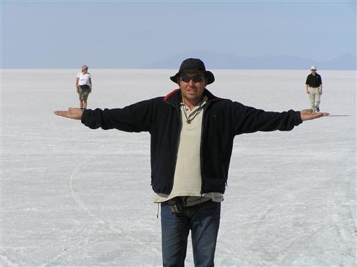 Den store saltsø - Bolivia
