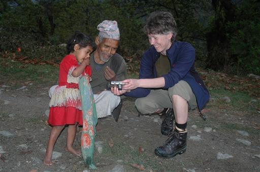 Det er altid sjovt at se billeder - Nepal