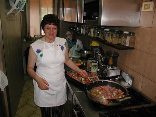 Mama Gemma i køkkenet - Italien