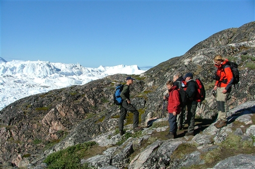 Vandring nær Ilulissat - Grønland