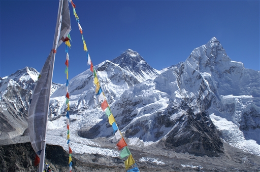 Mount Everest set fra Kala Pattar - Nepal
