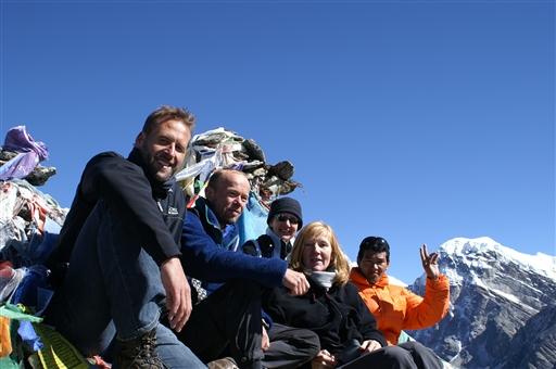 På Gokyo Peak - Nepal