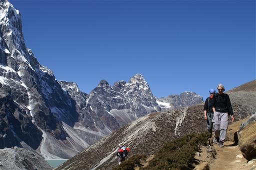 Vandring i Solu Khumbu nær Mount everest - Nepal