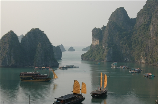 Halong bugten - Vietnam