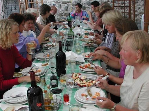Mad og vin i Toscana - Italien