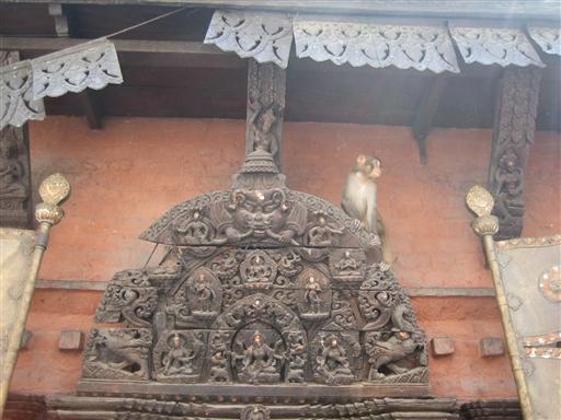 De flotte træskærerarbejder er karakteristisk for hele Kathmandu dalen