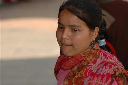 Ung buddistisk pige