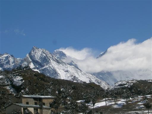 Mt. Everest kommer til syne