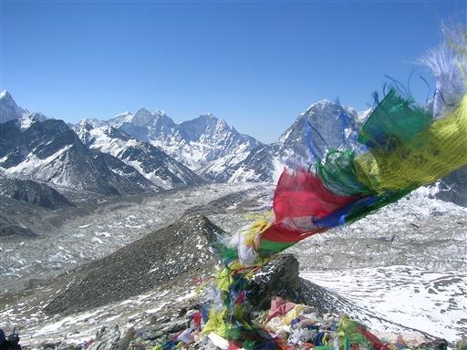 Toppen af Kala Pattar