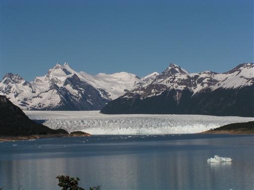 Den berømte Perito Moreno Gletcher - Argentina
