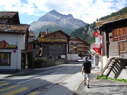 Tilbage i Schweiz-Saas Grund