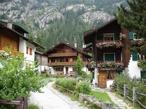Macugnaga - en Walser landsby