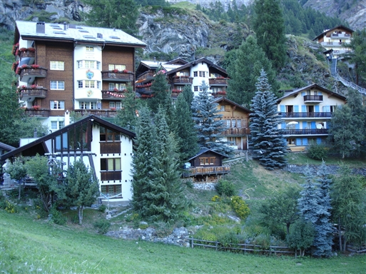 Zermatt-ca 1900 m.o.h.