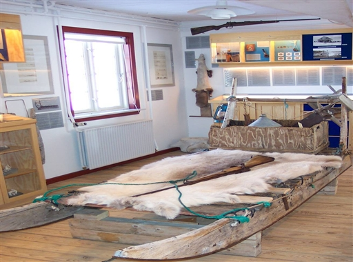 Den legendariske Thule Handelsstation er nu museum i Qaanaaq