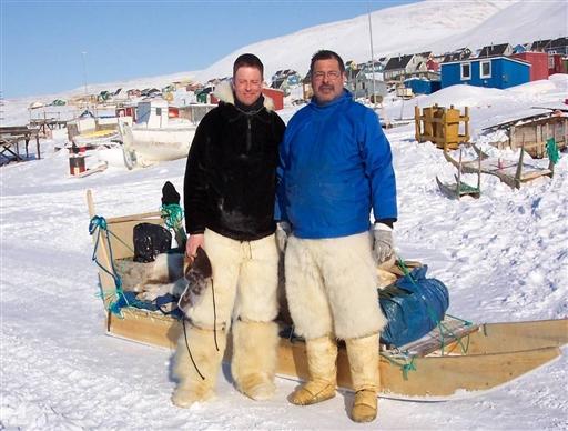 Tilbage i civilisationen efter 6 pragtfulde dage i den grønlandske vildmark