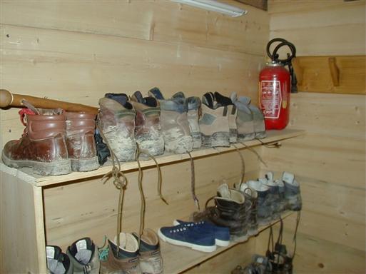 Vandrestøvler, der bliver brugt!