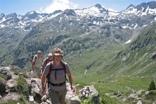 Med øjne i nakken, ville man kunne se Vignemale, hvis top er i 3.298 meter.