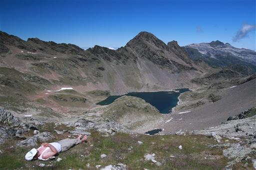 ..men så er udsigten fra toppen af passet (2.548 m.) også velfortjent.