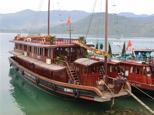 En traditionel båd - en såkaldt