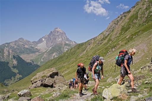 På vej mod Col d'Arrious