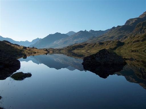 Søen i Oulettes d'Ossoue