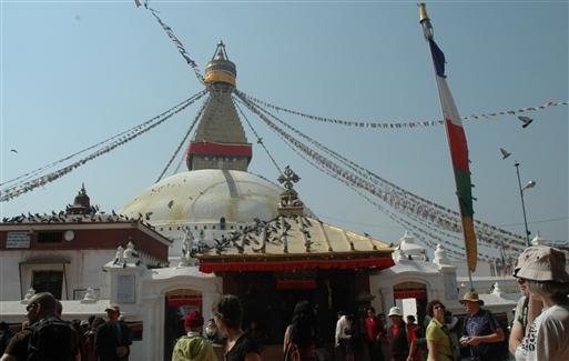 Boudenath - Tibetansk  buddhistisk helligdom
